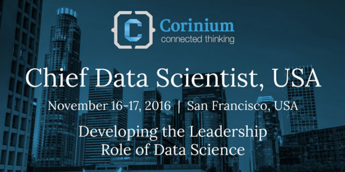 Chief Data Scientist Forum Unites Data Pros in SF This November