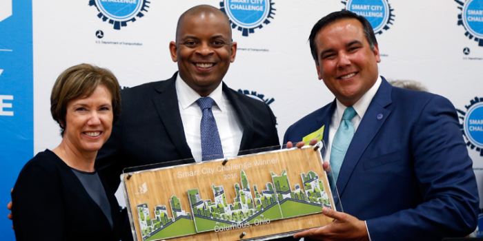 Columbus, Ohio Wins $40 Million in DOT Smart City Challenge