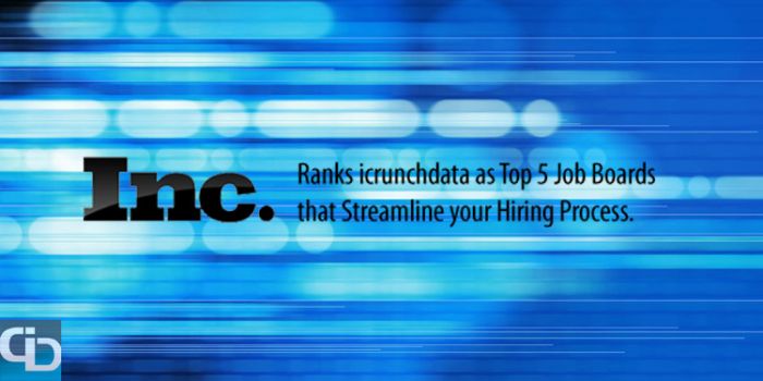 icrunchdata ranked by Inc Magazine Top 5 Job Boards - Business Wire