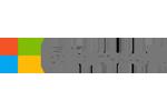 Microsoft Logo on icrunchdata